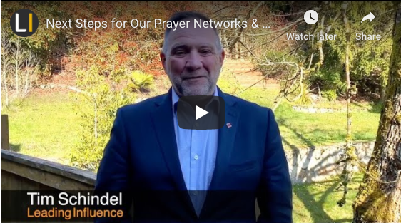 Next Steps for Our Prayer Networks & A Prayer for Canada's Leaders in Response to COVID-19