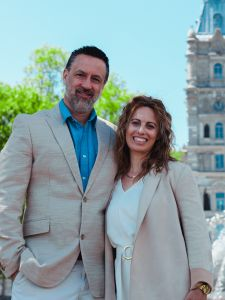 Grant & Anne-Claire Freake, Quebec Chaplains - Leading Influence