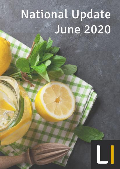 June 2020 National Update