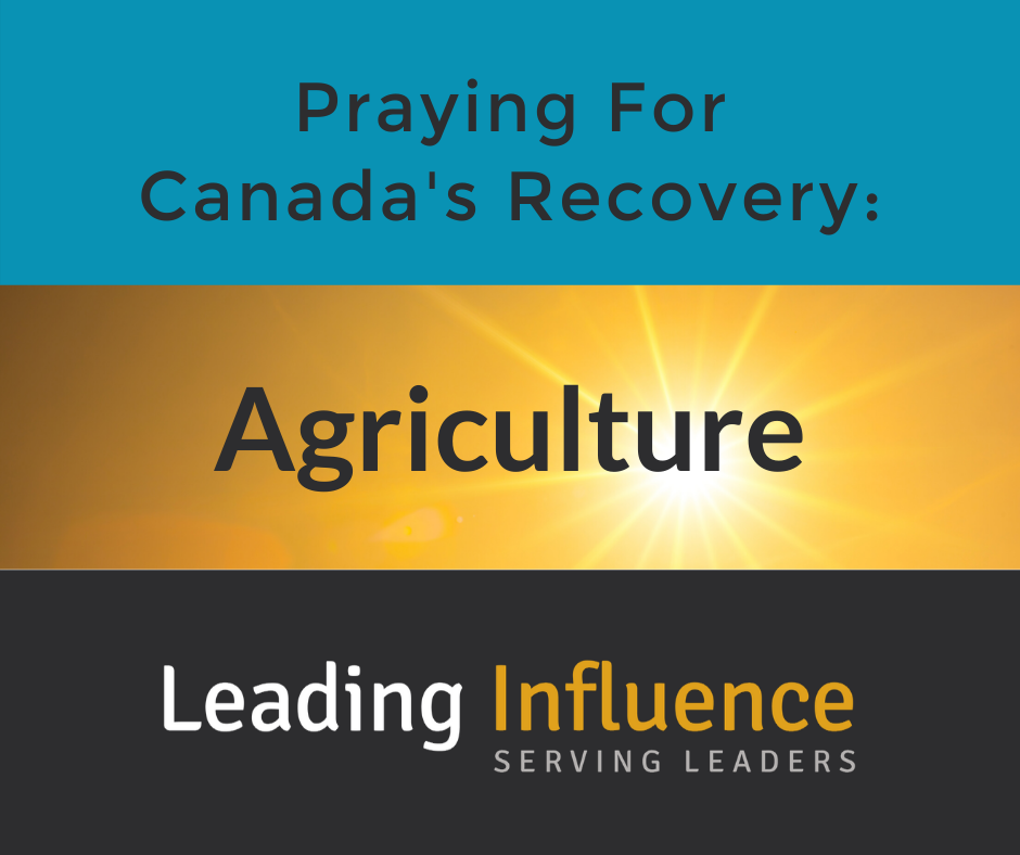 Praying for Canada's Recovery - Agriculture