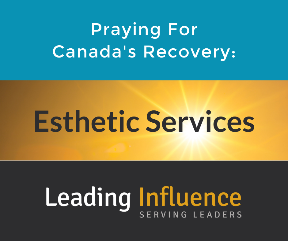 Praying for Canada's Recovery -Esthetics