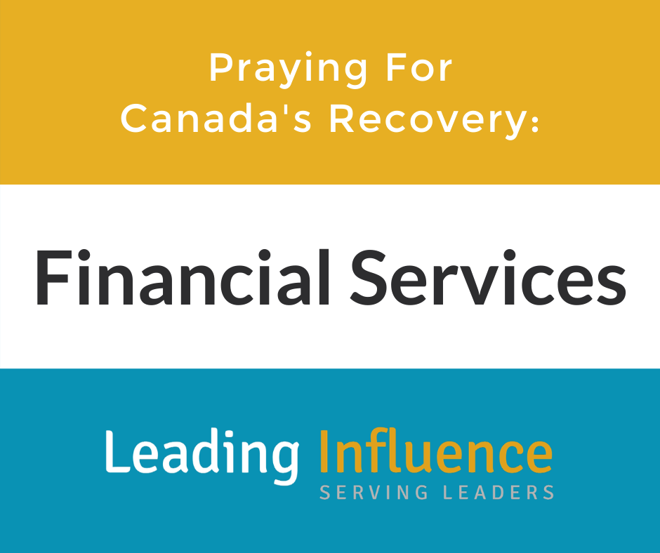 Praying for Canada's Recovery - Financial Services