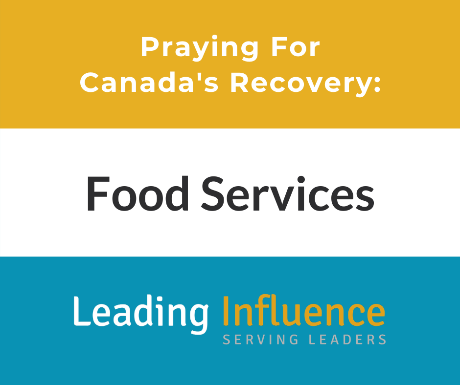 Praying For Canada's Recovery: Food Services