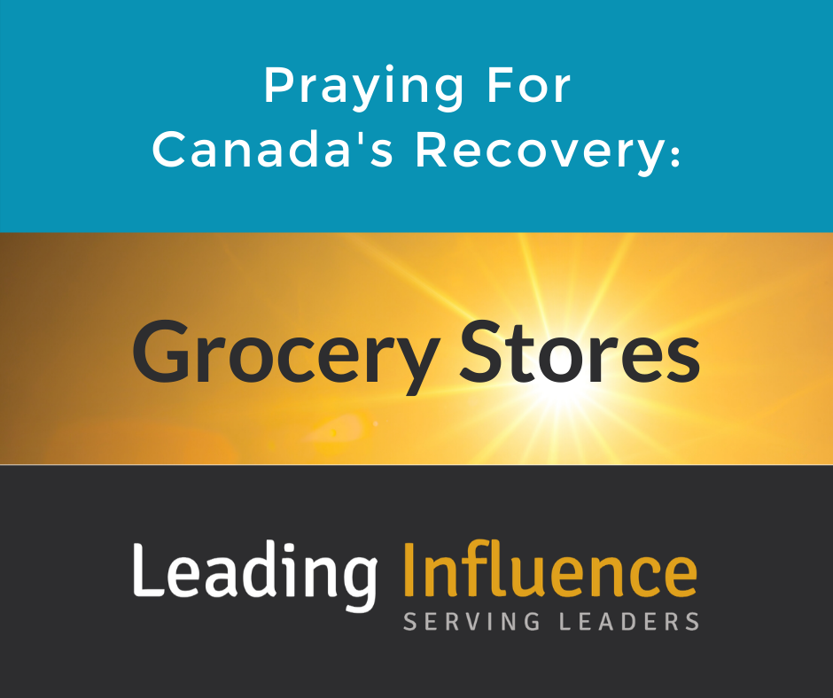 Praying for Canada's Recovery - Grocery