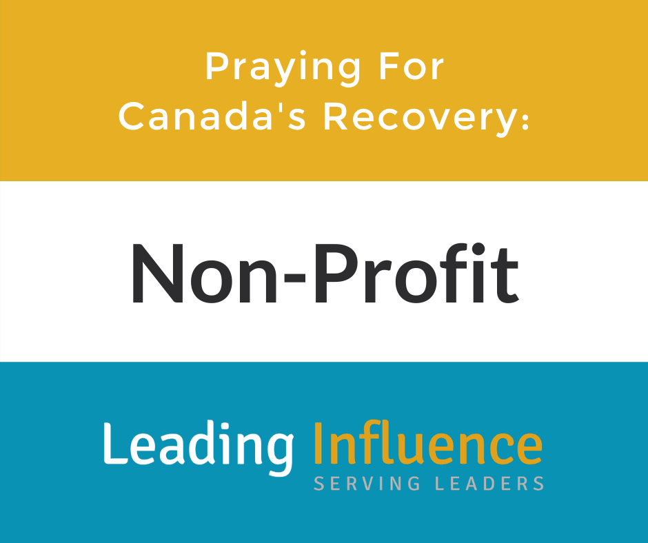 Praying for Canada's Recovery - Non-profit