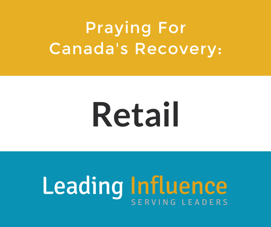 Praying for Canada's Recovery - Retail