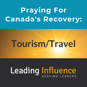 Praying for Canada's Recovery - Tourism travel