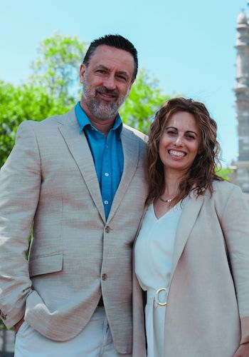 Grant & Anne-Claire Freake