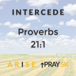 ARISE Prayer Campaign: INTERCEDE - Proverbs 21:1